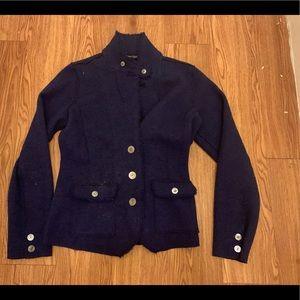 Eileen Fisher merino wool blazer jacket to medium